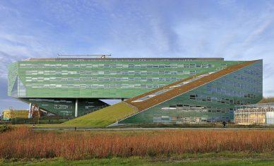 werk van architectenbureau Rudy Uytenhaak; Faculteit levensweten